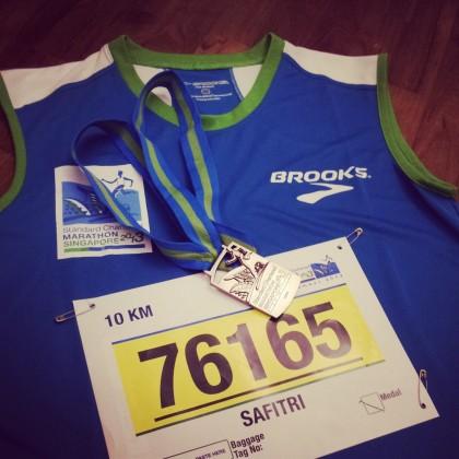 Medali ketiga (10K pertama)