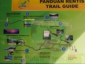 Train guide di Penang National Park