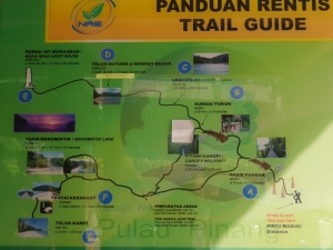 Train guide di Penang National Park