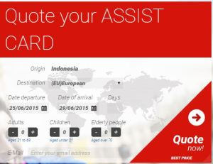 Halaman Assist Card