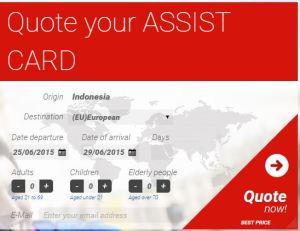 Halaman Assist Card