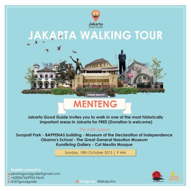 Jakarta Walking Tour
