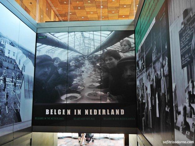 Para Pengungsi Belgia