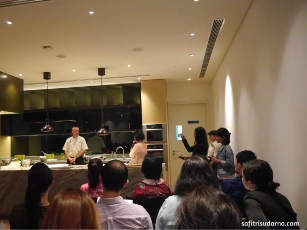 Cooking class with chef