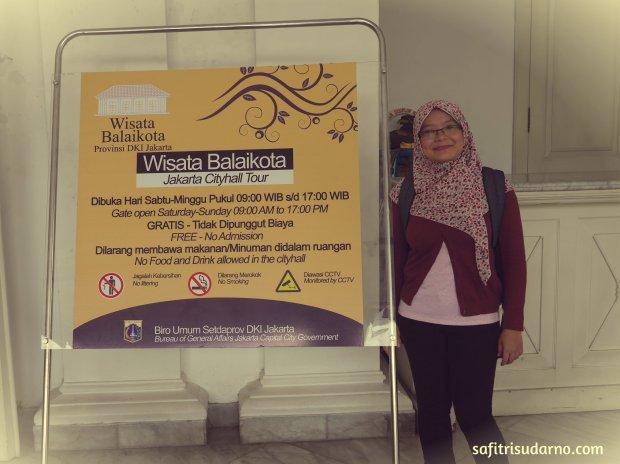 Wisata Balaikota Jakarta