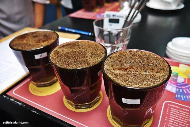 Kopi Lokal untuk Coffee Tasting