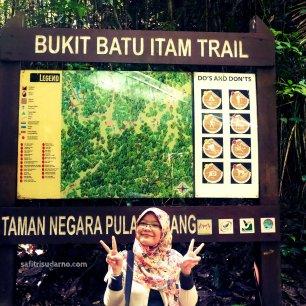 bukit batu itam trail penang malaysia