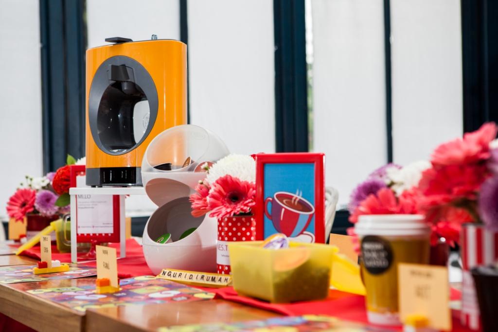 NDG Ramadhan Inspiration (9) - Dekorasi Meja Terinpirasi dari mesin NESCAFÉ Dolce Gusto OBLO