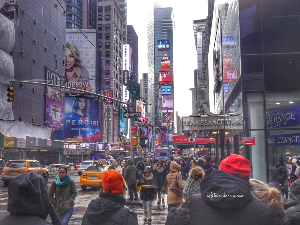 The Famous Times Square